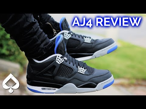 c1c1bcc06b7c Air Jordan 4 Motorsport Away Alternate REVIEW