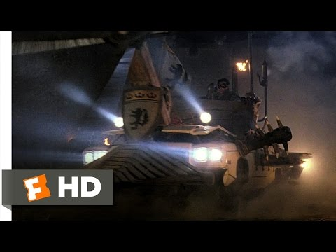 Army of Darkness (8/10) Movie CLIP - The Battle Car (1992) HD
