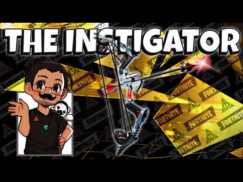 The Instigator ~ Spec Ops Spy Bow : My 1st Look | Fortnite Save The World