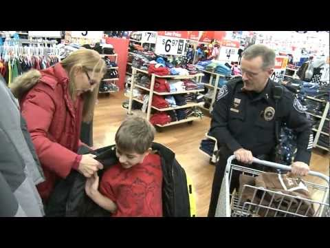 'Shop With A Cop' highlights (Saturday, Dec. 15, 2012)