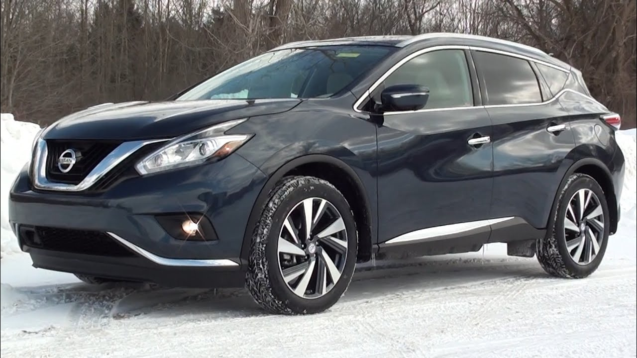 MVS - 2015 Nissan Murano Platinum AWD - YouTube
