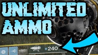 UNLIMITED HEAVY AMMO GLITCH! [Destiny 2] Infinite Magazine Size