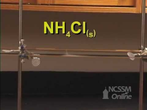 diffusion of ammonia and hydrogen chloride