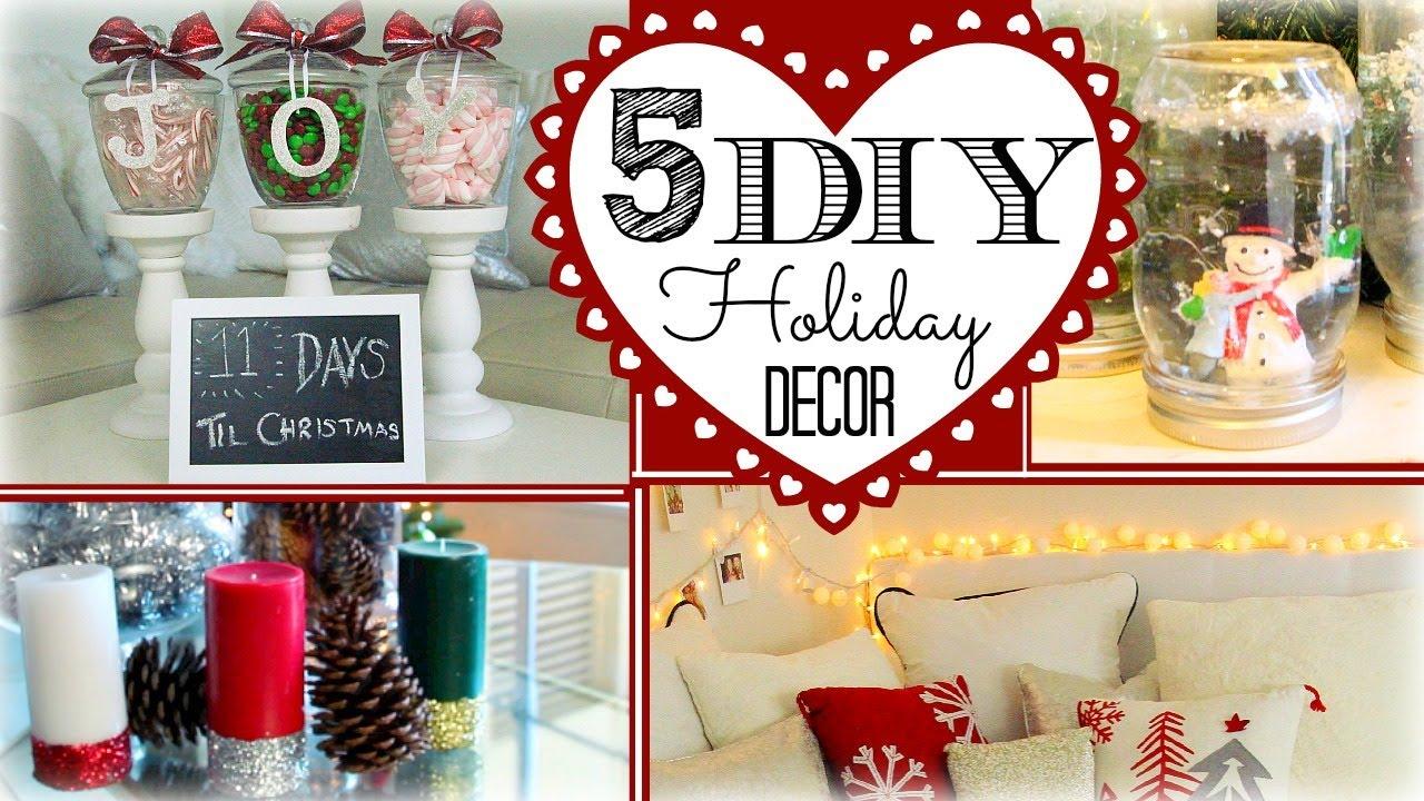5 Diy Holiday Decorations