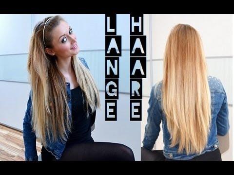 Lange und gesunde Haare - so schnell wie möglich - meine ...