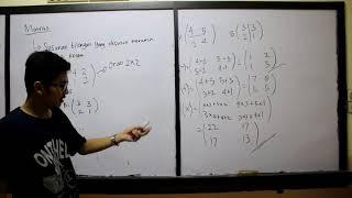 Video Pembelajaran Matriks