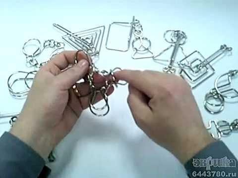 Как Разобрать Головоломку Из 4 Колец Инструкция Фото