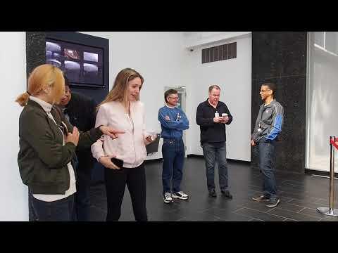 JPL Tour 2018 With Mars 2020 Mission Skycrane