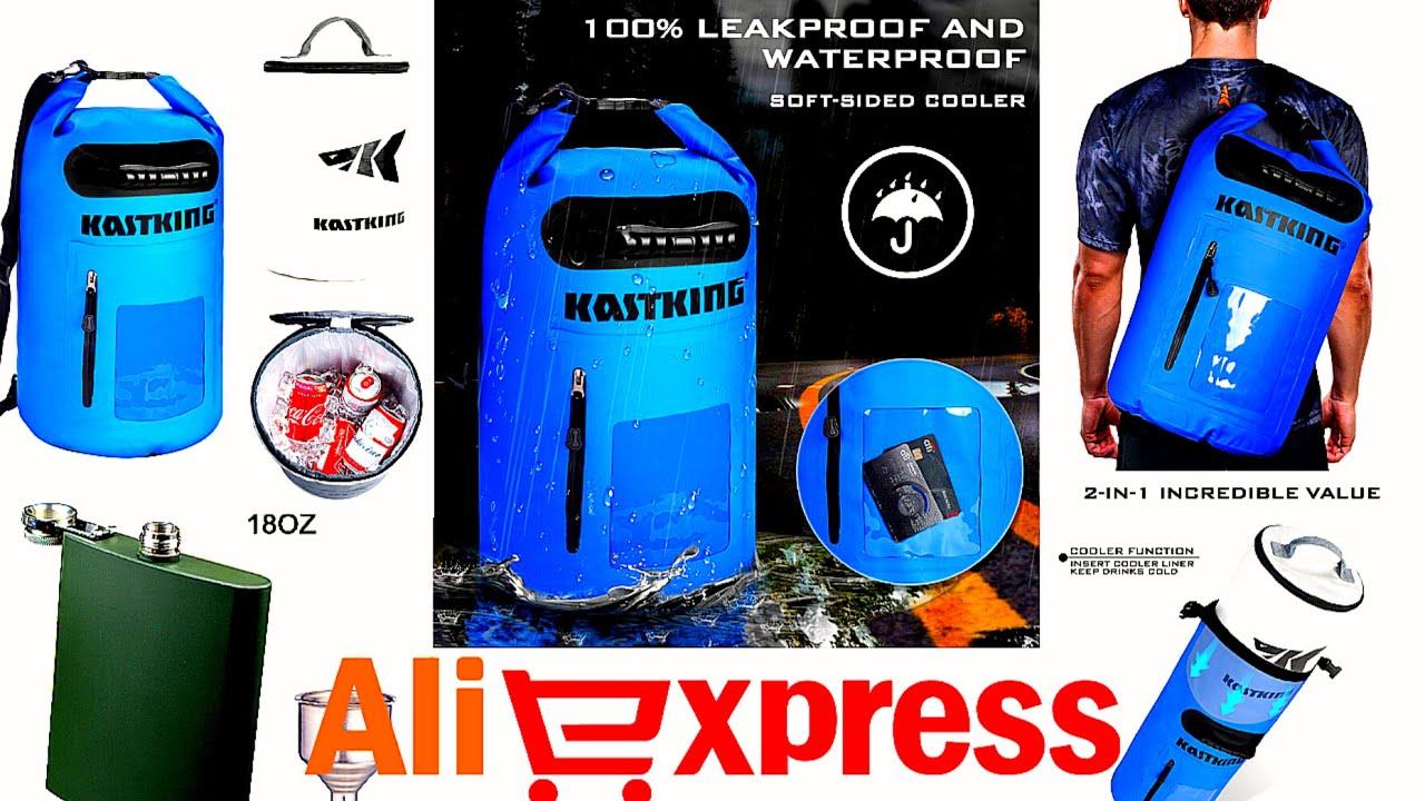 Гермо сумка холодильник 2 в одном. Фляжка титановая, рыболовно - туристическая) Годное С Aliexpress.