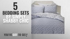 Top 10 Simply Shabby Chic Bedding Sets [2018]: Simply Shabby Chic Batik Indigo Blue Floral Duvet