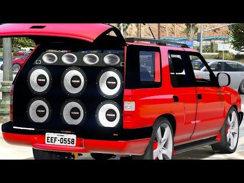 Gta V Chevrolet Blazer Com Paredo De Som Youtube