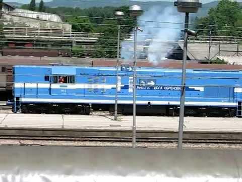 blue diesel locomotives General Motors Diesel Division (Business Operation)