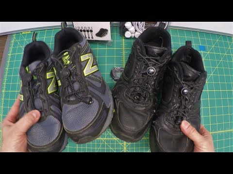 Never Tie Your Shoes Again With These $2 Laces – Tutorial