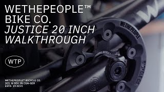COMPLETE BIKE WTP JUSTICE 2021 YELLOW