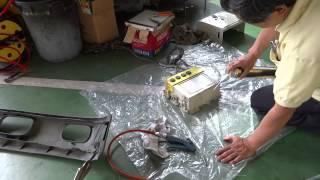 プラスチック修理,PPバンパー破損も,自分でメンテナンス方法は?3