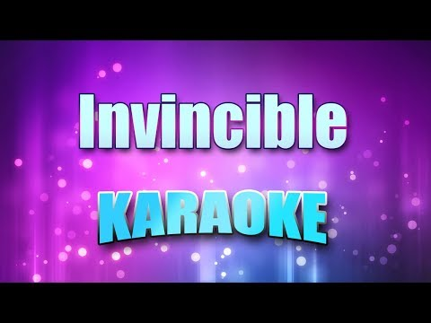 Benatar, Pat - Invincible (Karaoke version with Lyrics)