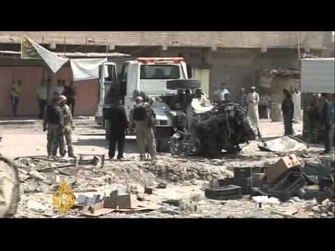 Iraqi cities hit by wave of deadly bombings