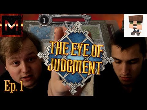 PHYSICAL CARDS! || The Eye Of Judgement! Ep. 1