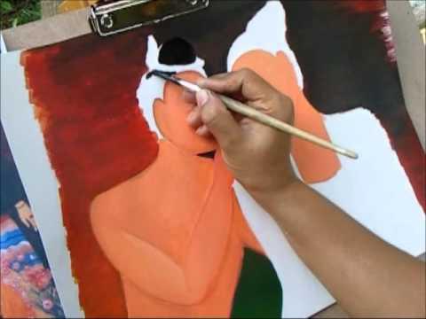 การวาดภาพด้วยสีโปสเตอร์