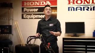 HRX217 Lawn Mower