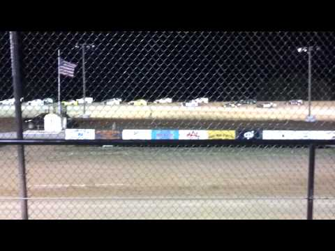 Elk City Speedway Modified A Main 4-28-12