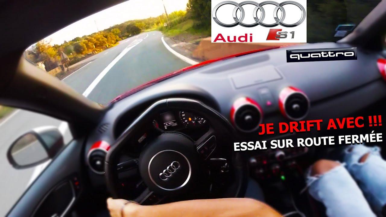 Download ESSAI D'UNE AUDI S1 QUATTRO DE 231 CHEVAUX SUR ROUTE FERMÉE // GO2RUPTOR