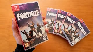 So would FORTNITE Save the World for Nintendo SWITCH in Physical [FANMADE]