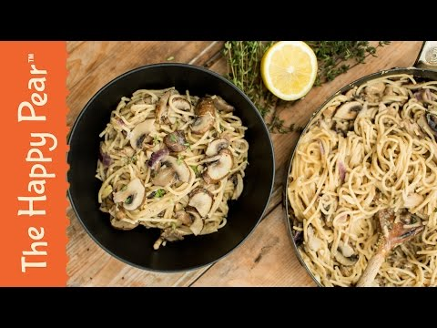 Creamy Mushroom Pasta | Vegan One Pot Wonder | THE HAPPY PEAR