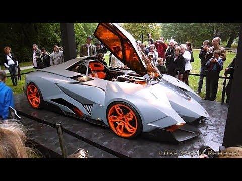 Lamborghini Egoista - YouTube