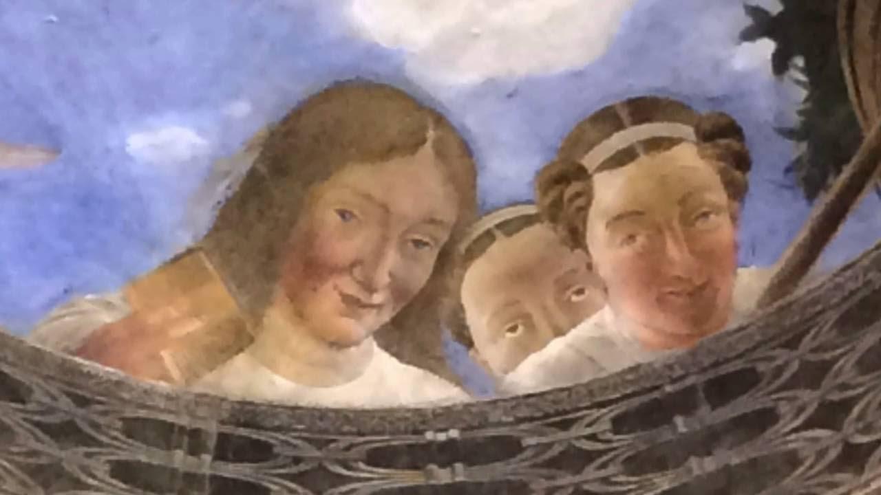Mantova la camera degli sposi youtube for La corte dei gonzaga mantegna
