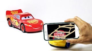 Cars service | Amazing Talking Toys Car Mcqueen and friends Ramirez! Scan by phone