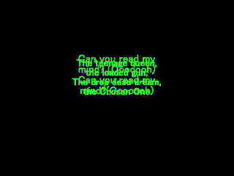 The Killers - Read my mind Karaoke.