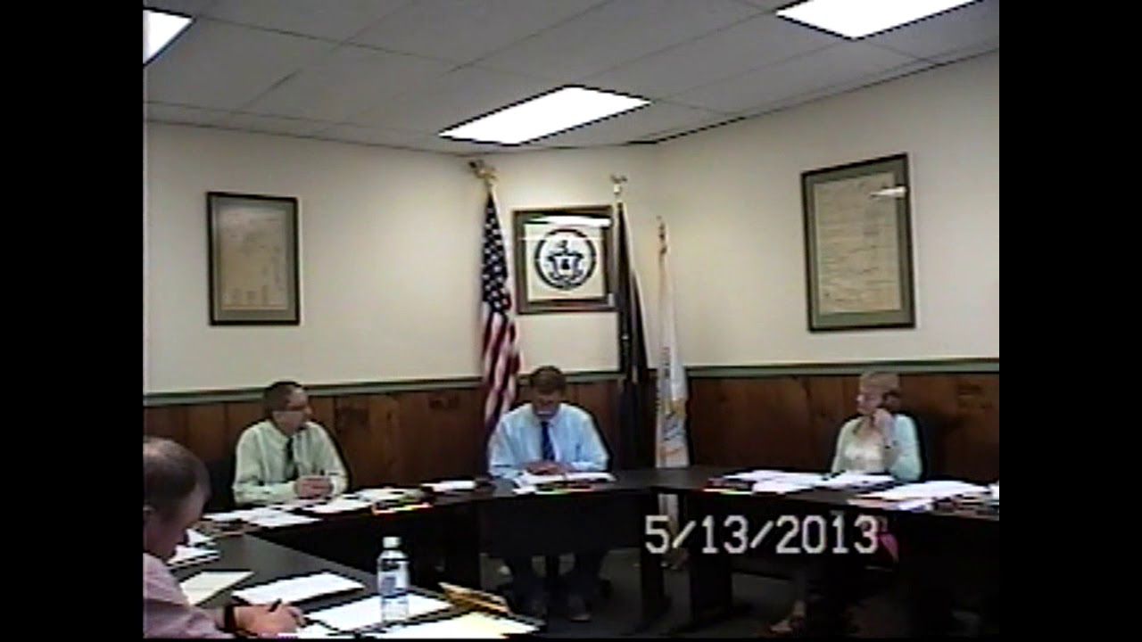 Champlain Village Board Meeting  5-13-13