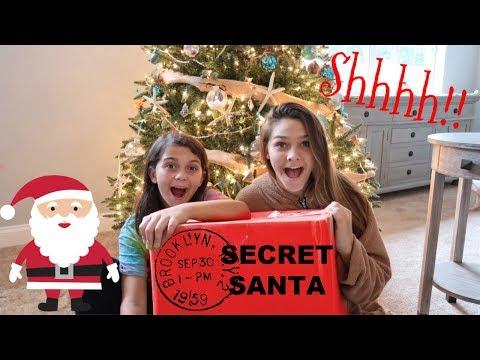 Secret Santa Mystery Box from Youtubers! Vlogmas 2018!