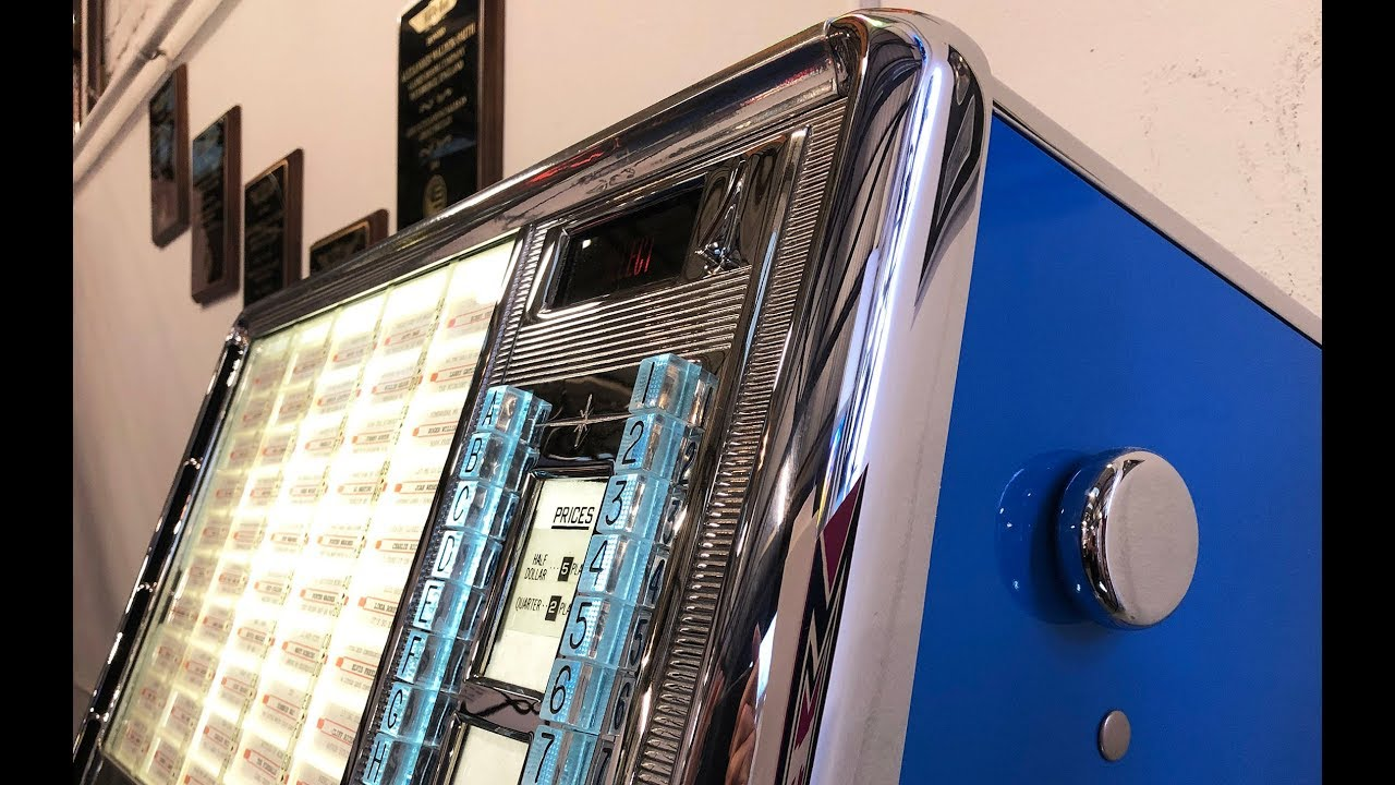 Rock Ola 430 Wall mounted jukebox fully restored