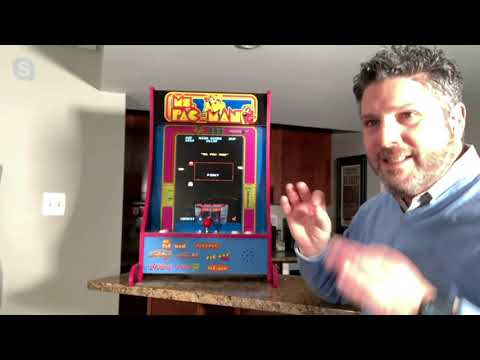 Arcade1Up 8 Game PartyCade Portable Home Arcade Machine on QVC from QVCtv