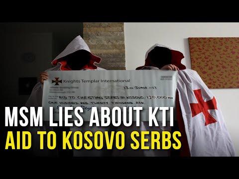 Mainstream media lies about KTI aid for Kosovo Serbs