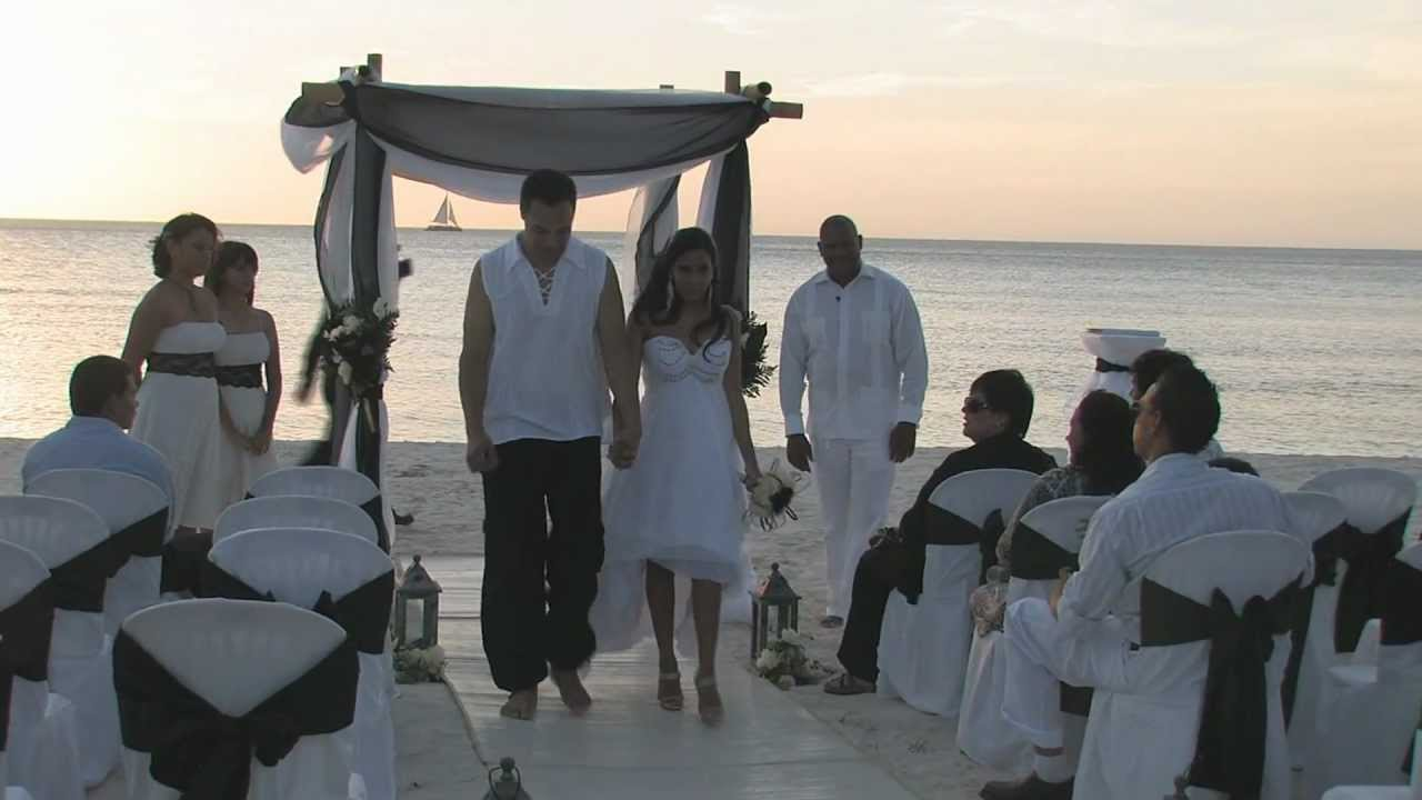 Jesse Jessenia Beach Wedding Compilation Divi Phoenix Aruba