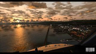 Landing at Genoa Cristoforo Colombo Airport / Italy - FSX HD