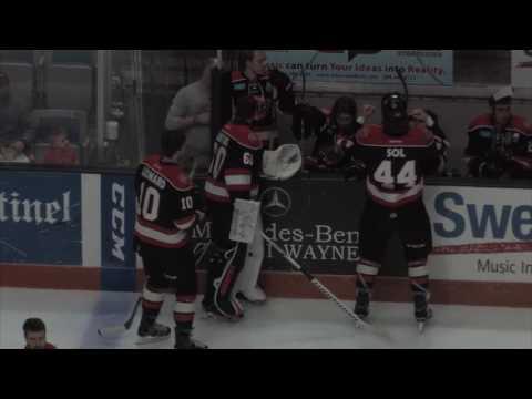 ECHL Hockey Komets vs Cincinnati Cyclones 2017-03-25