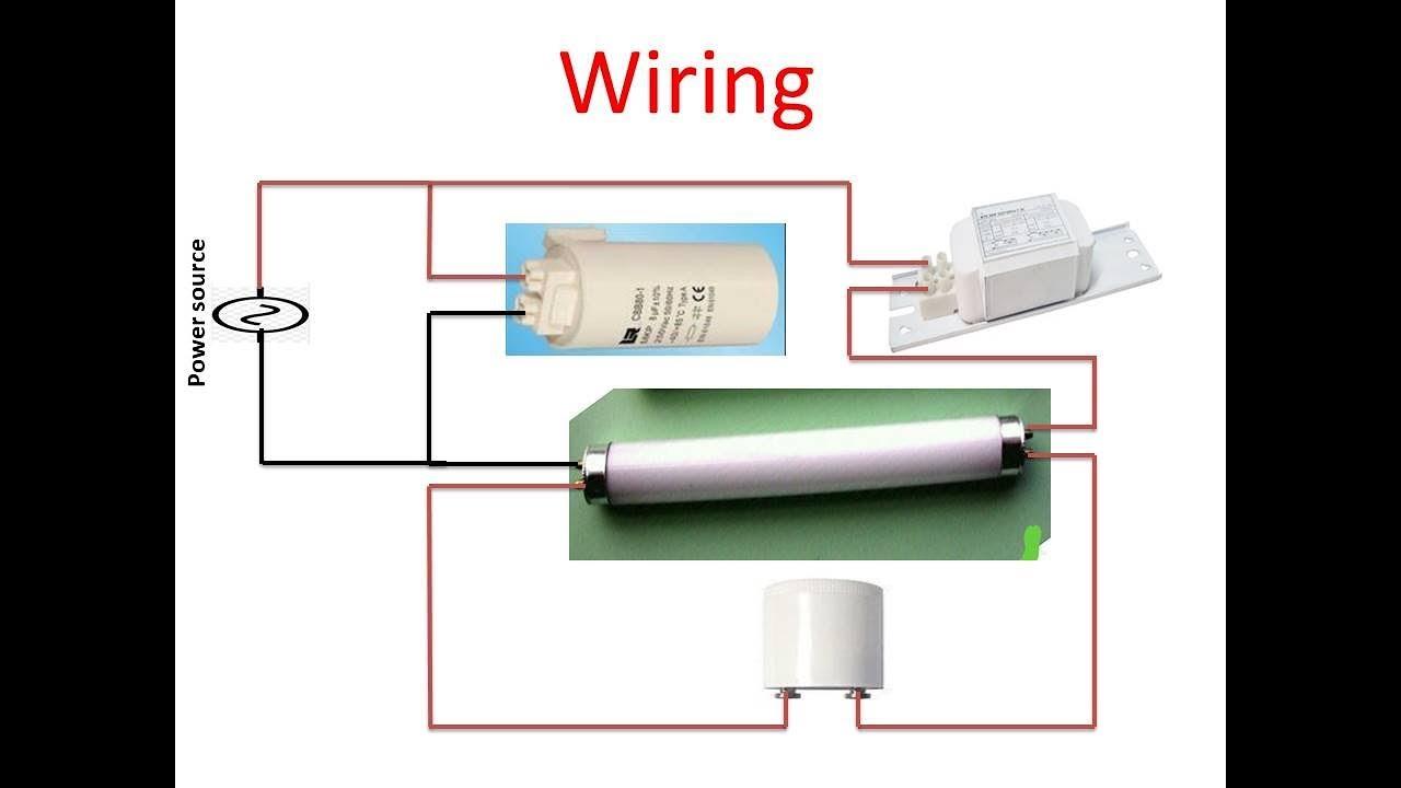 Fluorescent Light Bulb Wiring