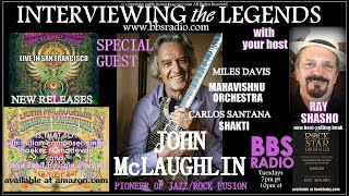 John McLaughlin Jazz/Rock Fusion Guitar Pioneer
