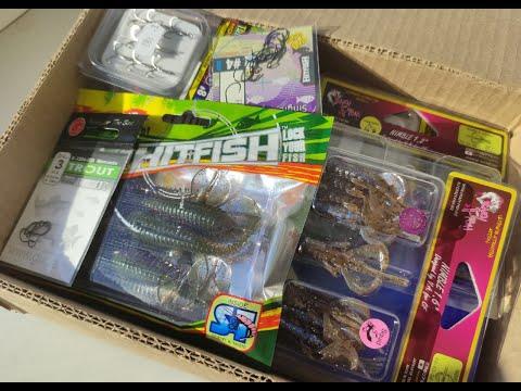 """Анбоксинг посылки c крючками и силиконовыми приманками от интернет-магазина """"Spinningline"""""""
