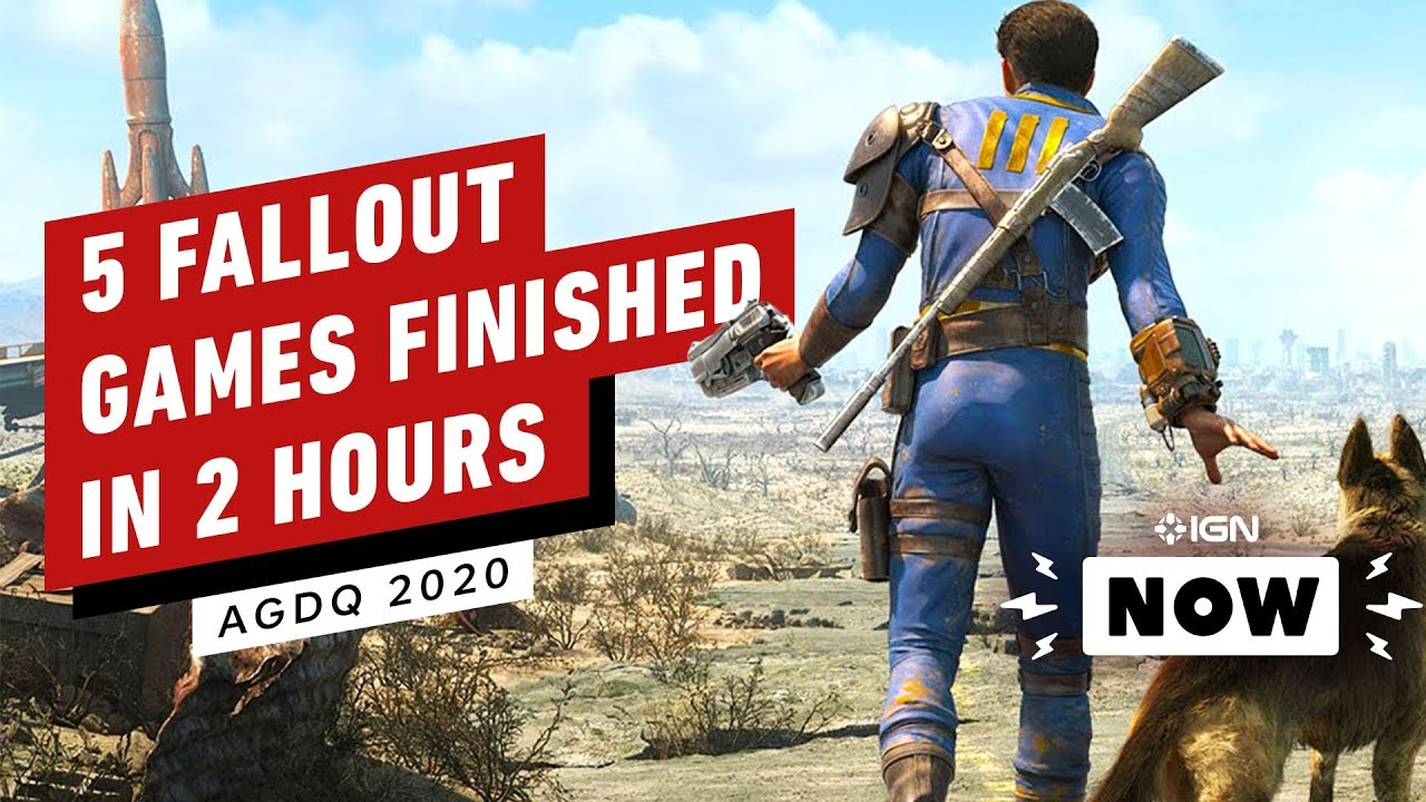 Five Fallout Games Finished in Just Over Two Hours - IGN Now thumbnail