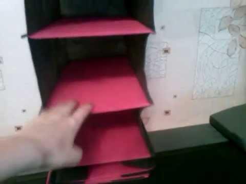 видео: Как сделать в шкафу навесные ящики, полки быстро (для девушек)