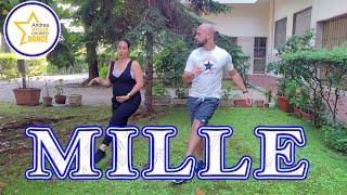 MILLE || Fedez·Achille Lauro·Orietta Berti || twist || balli di gruppo 2021|| Di spalle + Tutorial