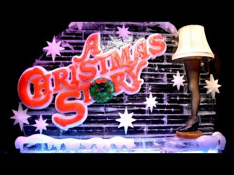 "ICE! Featuring ""A Christmas Story ""at Gaylord Palms 2018 Full Walk-Through with Slides POV, Leg Lamp"