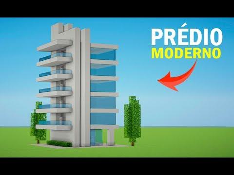 Minecraft: Construindo um Prédio Moderno | MANYACRAFT