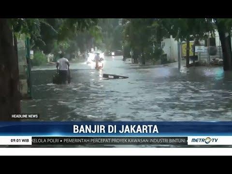 Sejumlah Wilayah Jakarta Terendam Banjir