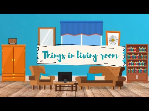 Bahasa Inggris Kelas 4 (Things In Living Room-Lesson 3-Grow With English) - YouTube